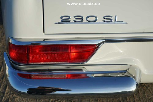 1965 Mercedes 230 SL with 57.000km from new.  For Sale (picture 6 of 6)