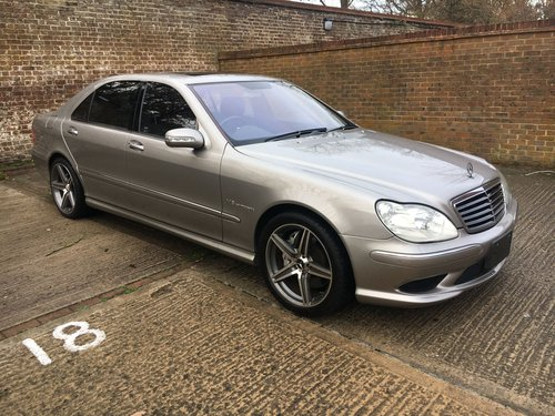 Mercedes Supercharged V8 Saloon 2004 59k Outstanding For Sale (picture 1 of 6)