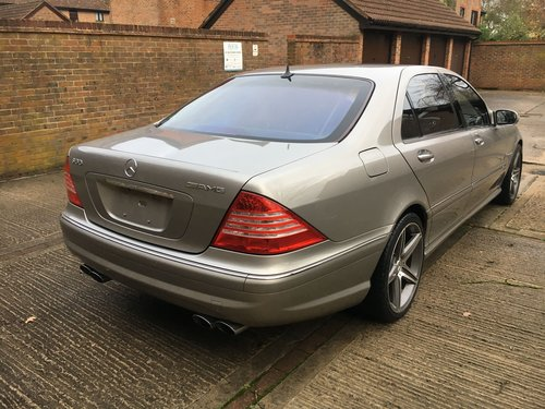 Mercedes Supercharged V8 Saloon 2004 59k Outstanding For Sale (picture 2 of 6)