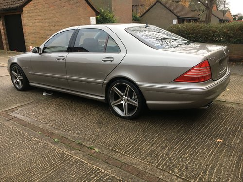 Mercedes Supercharged V8 Saloon 2004 59k Outstanding For Sale (picture 3 of 6)