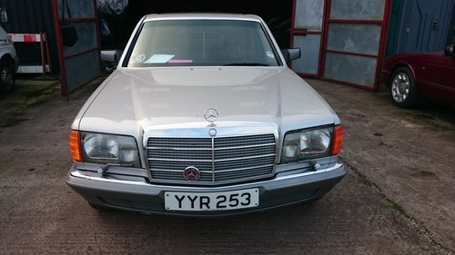 1985 Mercedes 380SE For Sale (picture 1 of 6)