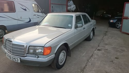 1985 Mercedes 380SE For Sale (picture 4 of 6)