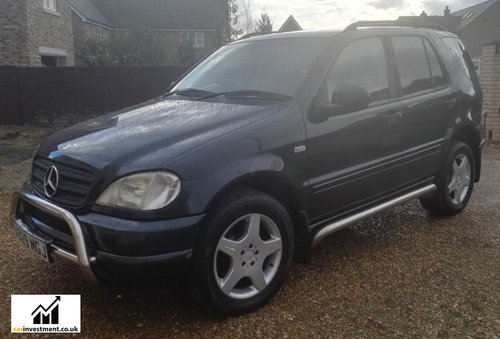 2000 Mercedes ML, 5.5 litre, AMG Wheels, 1 Owner, 57,000 miles For Sale (picture 2 of 6)
