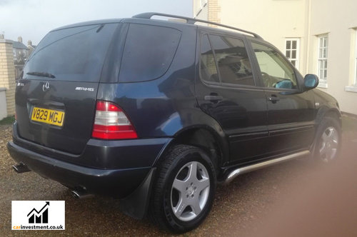 2000 Mercedes ML, 5.5 litre, AMG Wheels, 1 Owner, 57,000 miles For Sale (picture 3 of 6)
