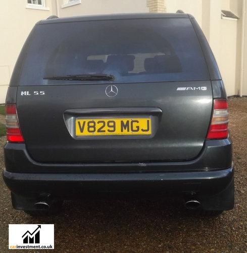 2000 Mercedes ML, 5.5 litre, AMG Wheels, 1 Owner, 57,000 miles For Sale (picture 4 of 6)