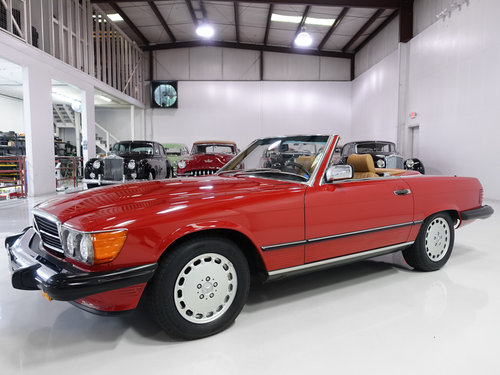 1987 Mercedes-Benz 560SL Roadster For Sale (picture 1 of 6)