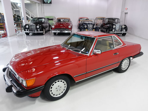 1987 Mercedes-Benz 560SL Roadster For Sale (picture 3 of 6)