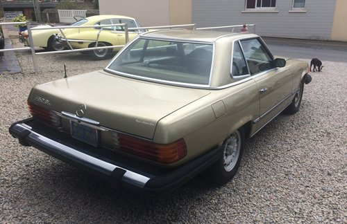 1975 Mercedes 450 SL  For Sale (picture 4 of 5)