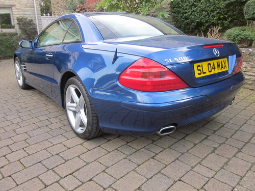 2004 Mercedes Benz SL500 For Sale (picture 2 of 6)