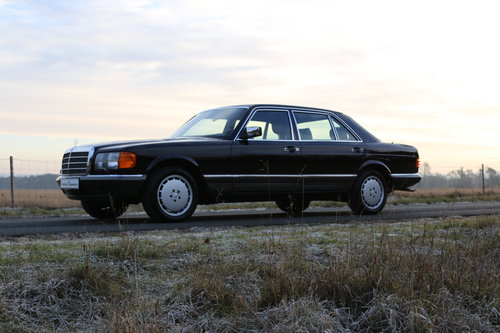 1982 vollstaendige Spezifikation eines Mercedes Benz W126 500 SEL For Sale (picture 1 of 6)