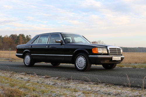 1982 vollstaendige Spezifikation eines Mercedes Benz W126 500 SEL SOLD (picture 2 of 6)