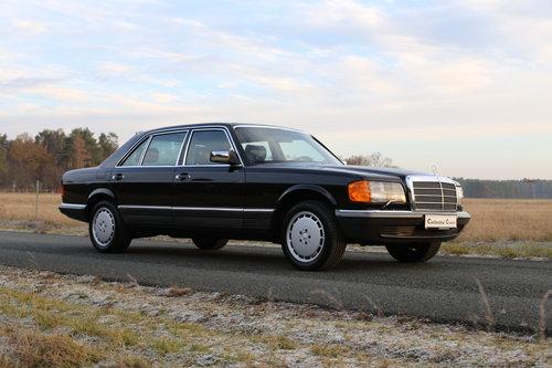 1982 vollstaendige Spezifikation eines Mercedes Benz W126 500 SEL For Sale (picture 2 of 6)