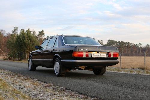 1982 vollstaendige Spezifikation eines Mercedes Benz W126 500 SEL For Sale (picture 3 of 6)