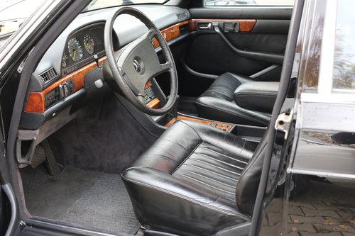 1982 vollstaendige Spezifikation eines Mercedes Benz W126 500 SEL For Sale (picture 4 of 6)