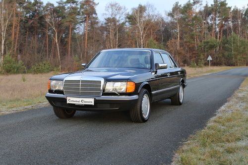 1982 vollstaendige Spezifikation eines Mercedes Benz W126 500 SEL For Sale (picture 6 of 6)
