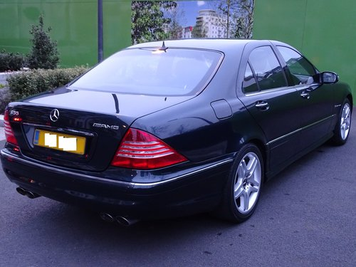 2003 Mercedes S55 AMG Supercharged SOLD (picture 1 of 6)
