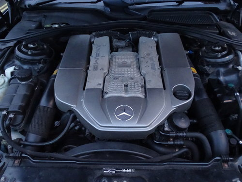 2003 Mercedes S55 AMG Supercharged SOLD (picture 4 of 6)