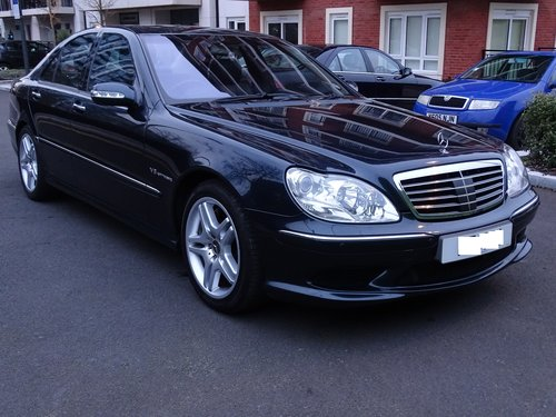 2003 Mercedes S55 AMG Supercharged SOLD (picture 6 of 6)