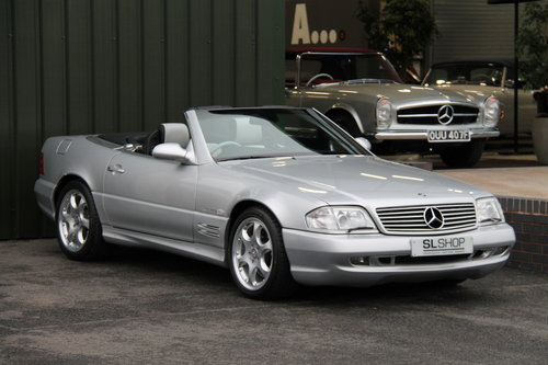 2001 MERCEDES-BENZ SL 500 | STOCK #2065 For Sale (picture 1 of 6)