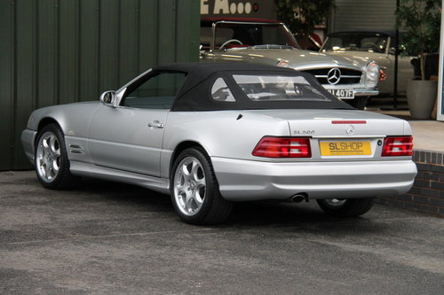 2001 MERCEDES-BENZ SL 500 | STOCK #2065 For Sale (picture 5 of 6)