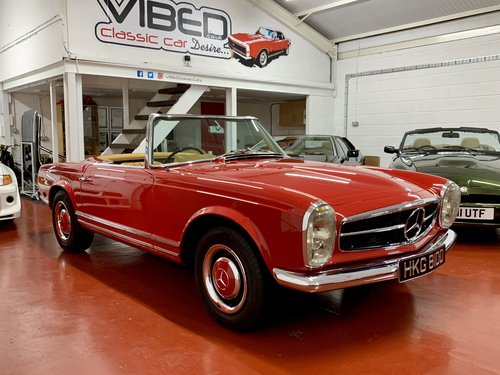 1966 Mercedes 230 SL - UK Matching Numbers - Stunning Restoration For Sale (picture 1 of 6)
