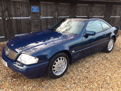 1998 Mercedes SL 500 Special Edition ( 129-series ) For Sale (picture 1 of 6)