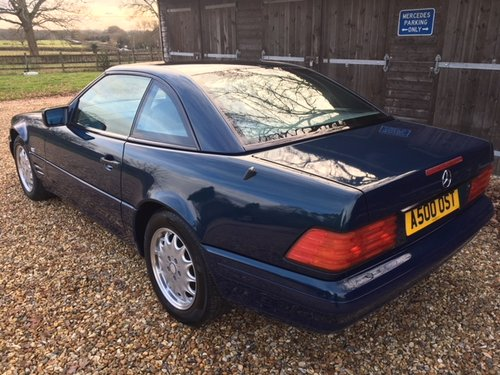1998 Mercedes SL 500 Special Edition ( 129-series ) For Sale (picture 3 of 6)