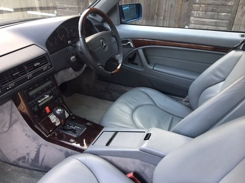 1998 Mercedes SL 500 Special Edition ( 129-series ) For Sale (picture 4 of 6)