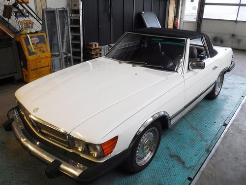 1981 Mercedes 380SL For Sale (picture 1 of 6)