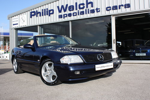 1998 MERCEDES SL280 V6 CONVERTIBLE with HARD & SOFT TOPS SOLD (picture 1 of 6)