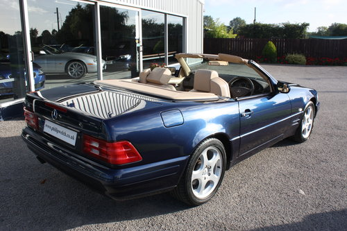 1998 MERCEDES SL280 V6 CONVERTIBLE with HARD & SOFT TOPS SOLD (picture 5 of 6)