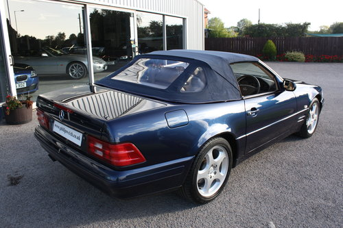 1998 MERCEDES SL280 V6 CONVERTIBLE with HARD & SOFT TOPS SOLD (picture 6 of 6)