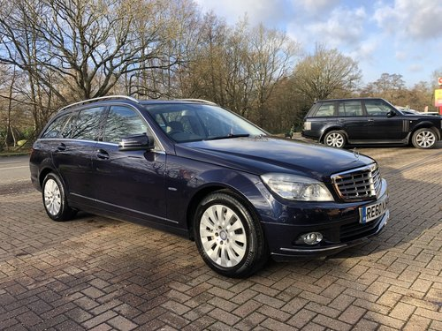 2010 (60) Mercedes C220 CDI BlueEFFICIENCY Elegance Estate SOLD (picture 1 of 6)