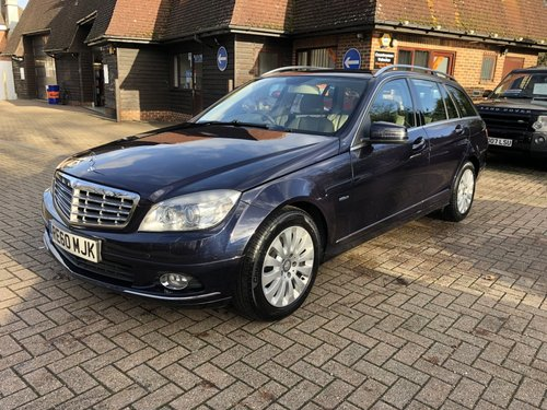 2010 (60) Mercedes C220 CDI BlueEFFICIENCY Elegance Estate SOLD (picture 2 of 6)