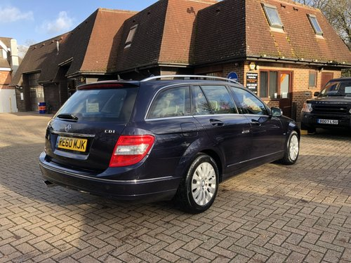 2010 (60) Mercedes C220 CDI BlueEFFICIENCY Elegance Estate SOLD (picture 3 of 6)