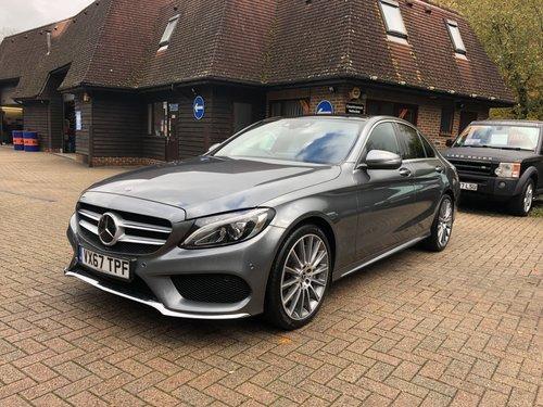 2017 (67) Mercedes Benz C250D AMG Line Premium Plus For Sale (picture 2 of 6)