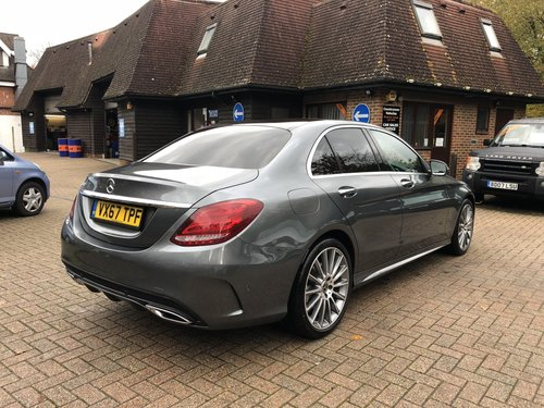 2017 (67) Mercedes Benz C250D AMG Line Premium Plus For Sale (picture 3 of 6)