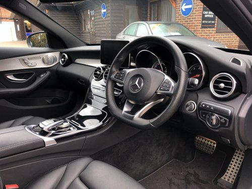 2017 (67) Mercedes Benz C250D AMG Line Premium Plus For Sale (picture 5 of 6)