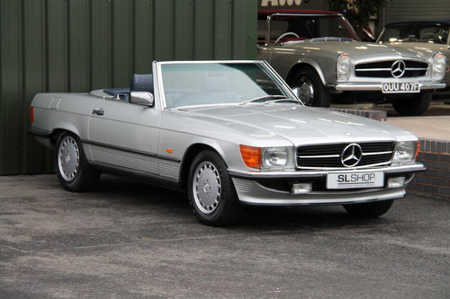 1986 Mercedes-Benz 300SL (R107) just 27,000 miles #2031 For Sale (picture 1 of 6)