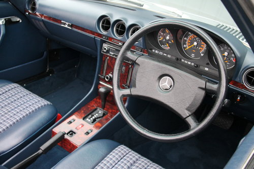 1986 Mercedes-Benz 300SL (R107) just 27,000 miles #2031 For Sale (picture 2 of 6)