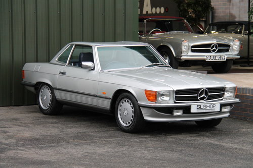 1986 Mercedes-Benz 300SL (R107) just 27,000 miles #2031 For Sale (picture 6 of 6)