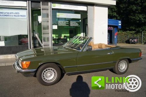 Mercedes Classe SL 280 CABRIO DEL 1981 For Sale (picture 2 of 6)