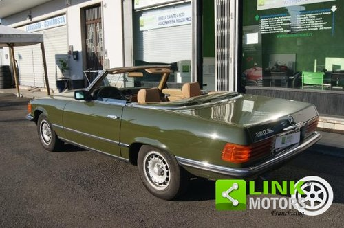 Mercedes Classe SL 280 CABRIO DEL 1981 For Sale (picture 3 of 6)