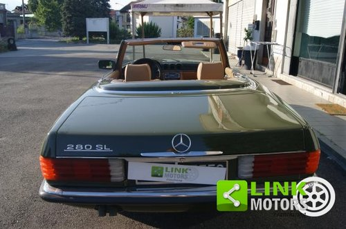 Mercedes Classe SL 280 CABRIO DEL 1981 For Sale (picture 4 of 6)