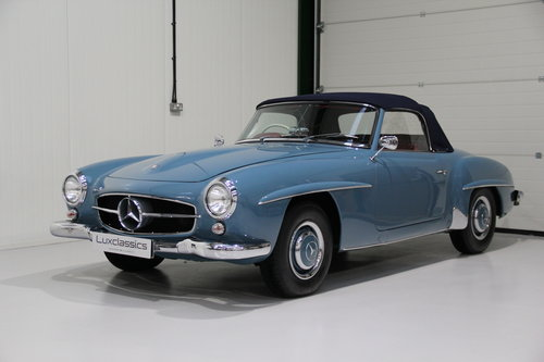 1960 Mercedes Benz 190 SL Restored Right Hand Drive For Sale (picture 1 of 6)