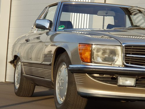 1987 Mercedes Benz 300SL R107 beautiful in shape For Sale (picture 3 of 6)