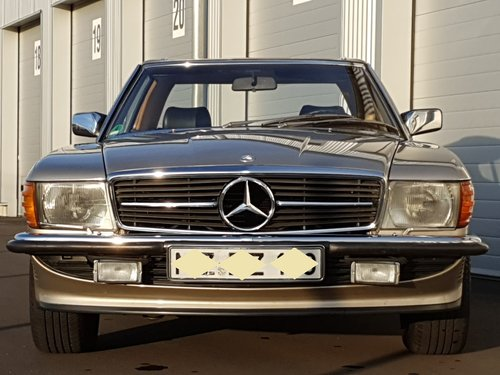 1987 Mercedes Benz 300SL R107 beautiful in shape For Sale (picture 4 of 6)