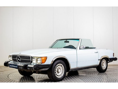 1973 Mercedes-Benz V8 450 SL Roadster For Sale (picture 1 of 6)