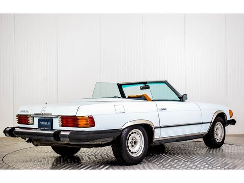 1973 Mercedes-Benz V8 450 SL Roadster For Sale (picture 2 of 6)