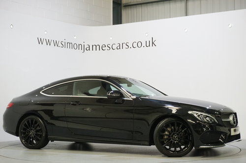 2016 Mercedes Benz C300 AMG Line Coupe'  SOLD (picture 1 of 6)